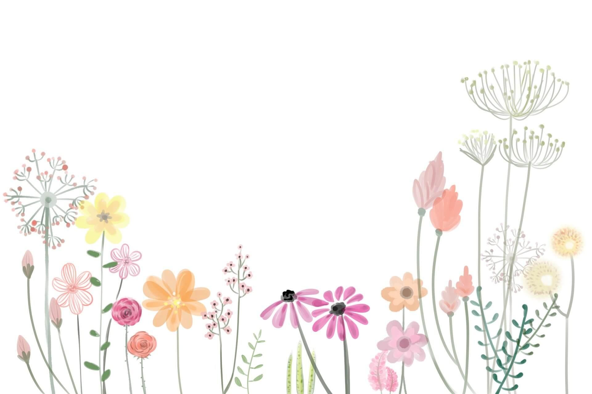 Blumen Aquarell Liebe Trauer Sterneneltern