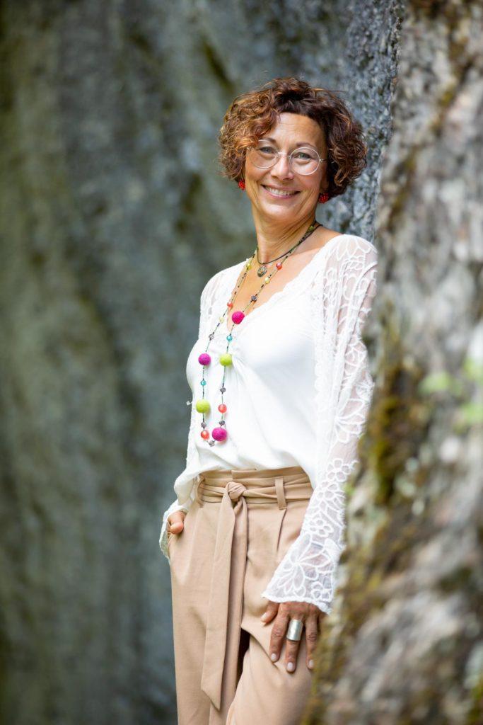 Trauer ein Gesicht geben - Autorin Birgit Schneider